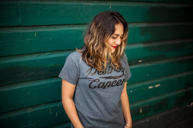 Destroy Cancer – Promises Kept shirt
