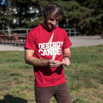 Destroy Cancer - Gold Rush shirt