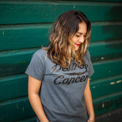 Destroy Cancer - Promises Kept shirt