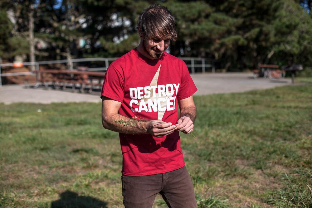 Destroy Cancer - Gold Rush shirt